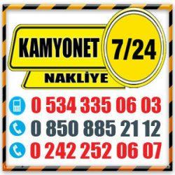 AYDINLIK | ANTALYA ŞEHİR İÇİ NAKLİYE - 0534 3350603