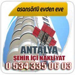 ANTALYA GÜRSU EVDEN EVE NAKLIYAT 0534 335 0603