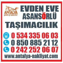 ANTALYA MARMARİS NAKLİYAT  0242 252 06 07