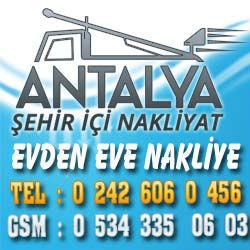 ANTALYA KONYA NAKLİYE / 0534 335 0603